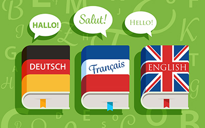 Some Differences between English and French or German Languages
